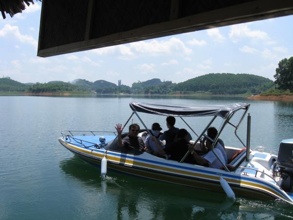 Thac Ba lake1