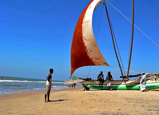 Negombo beach. one of the beautifil and nice beaches of Sri lanka.